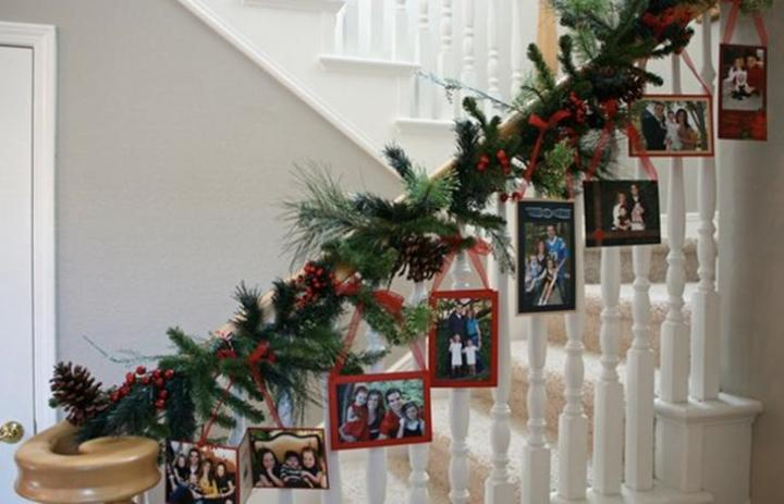 Simple and Affordable: Display Holiday photos and cards!